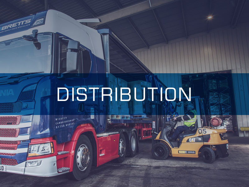 Distribution Services from Bretts Transport Ltd